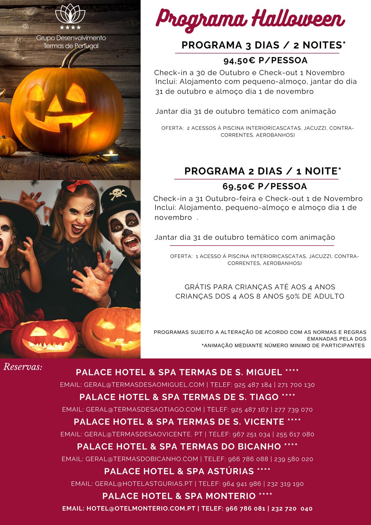Programa Halloween